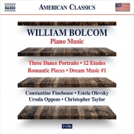 ピアノ作品集 コンスタンティン・ファインハウス、ウルスラ・オッペンス、クリストファー・テイラー、エステラ・オレヴスキー(3CD)