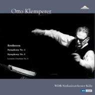 交響曲第4番、5番「運命」、「レオノーレ」序曲第3番:オットー・クレンペラー指揮&ケルン放送交響楽団 (ステレオ/2枚組アナログレコード)