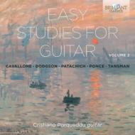 Easy Studies For Guitar Vol.2: Porqueddu