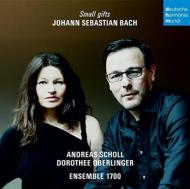 Small Gifts-arias, Brandenburg Concerto, 2, 4, Etc: A.scholl(Ct)Oberlinger(Rec)Ensemble 1700