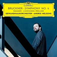 ブルックナー:交響曲第4番『ロマンティック』、ワーグナー:『ローエングリン』第1幕への前奏曲 アンドリス・ネルソンス&ゲヴァントハウス管弦楽団