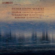 Escher String Quaret : Dvorak String Quaret No.12, Thaikovsky Quartet No.1, Borodin Quartet No.2 (Hybrid)