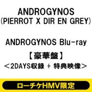 《ローチケHMV限定販売》 ANDROGYNOS Blu-ray【豪華盤】<2DAYS収録 +特典映像> (2回目)