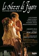 『フィガロの結婚』全曲 マルティノーティ演出、ルネ・ヤーコプス&コンチェルト・ケルン、ダッシュ、ピサローニ、他(2004 ステレオ)(2DVD)(日本語字幕付)