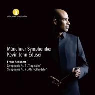 交響曲第8番『未完成』(ヴェンツァーゴ補筆完成版)、第4番 ケヴィン・ジョン・エドゥセイ&ミュンヘン交響楽団