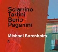パガニーニ:24のカプリースより、ベリオ:セクエンツァ8、タルティーニ:悪魔のトリル、シャリーノ:6つのカプリース マイケル・バレンボイム