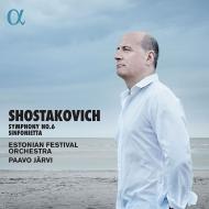 交響曲第6番、シンフォニエッタ パーヴォ・ヤルヴィ&エストニア祝祭管弦楽団