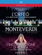 『オルフェオ』全曲(ミラノ・スカラ座、2009年)、『ポッペアの戴冠』全曲(リセウ大歌劇場、2009年)(2BD)