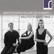 ベートーヴェン:ピアノ三重奏曲第5番『幽霊』、ヒラー:セレナード第2番、シューベルト:ノットゥルノ ラウティオ・ピアノ三重奏団