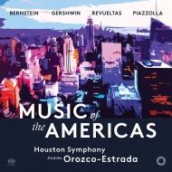 バーンスタイン:『ウエスト・サイド物語』交響的舞曲、レブエルタス:センセマヤ、ガーシュウィン:パリのアメリカ人、他 オロスコ=エストラーダ&ヒューストン響