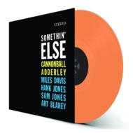 Somethin' Else  (カラーヴァイナル仕様/180グラム重量盤レコード/waxtime in color)