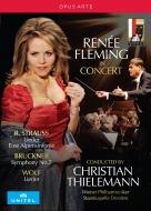 R.シュトラウス:アルプス交響曲、歌曲集、ブルックナー:交響曲第7番、ヴォルフ:歌曲集、他 クリスティアーン・ティーレマン指揮、ルネ・フレミング(2DVD)