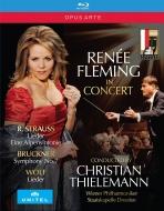 R.シュトラウス:アルプス交響曲、歌曲集、ブルックナー:交響曲第7番、ヴォルフ:歌曲集、他 クリスティアーン・ティーレマン指揮、ルネ・フレミング(2BD)