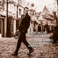 『モーツァルト以前のホルン協奏曲集』 アレック・フランク=ゲミル、ニコラス・マギーガン&スウェーデン室内管弦楽団