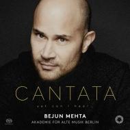 カンタータ集〜ヘンデル、バッハ、ヴィヴァルディ、他 ベジュン・メータ、ベルリン古楽アカデミー