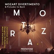 ディヴェルティメント変ホ長調、6つの前奏曲とフーガ ジョナサン・クロウ、ダグラス・マックナブネイ、マット・ハイモヴィッツ