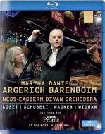 リスト:ピアノ協奏曲第1番、ワーグナー:序曲、前奏曲集、他 マルタ・アルゲリッチ、ダニエル・バレンボイム&ウェスト=イースタン・ディヴァン管(プロムス2016)