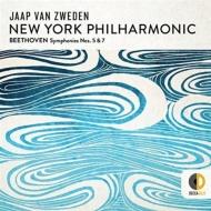 交響曲第5番『運命』、第7番 ヤープ・ヴァン・ズヴェーデン&ニューヨーク・フィル