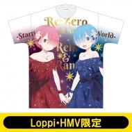 Re:ゼロから始まる異世界生活 / フルグラフィックTシャツ(レム & ラム)【Loppi・HMV限定】