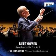 交響曲第5番『運命』、第2番 久石 譲&ナガノ・チェンバー・オーケストラ