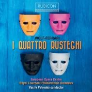 『四人の田舎者』全曲 ワシリー・ペトレンコ&ロイヤル・リヴァプール・フィル、ラマティッチ、ベルトラーミ、他(2012 ステレオ)(2CD)