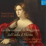 歌劇『ルッジェーロの救出』全曲 パウル・ファン・ネーヴェル&ウエルガス・アンサンブル、ミカエラ・リーナー、アヒム・シュルツ、他(2016 ステレオ)(2CD)