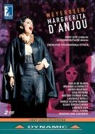 歌劇『アンジュのマルガリータ』全曲 タレヴィ演出、ファビオ・ルイージ&イタリア国際管、デ・ブラシス、ロシツキー、他(2017 ステレオ)(2DVD)