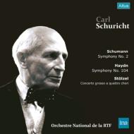 交響曲第2番(シューマン)、交響曲第104番(ハイドン)、他:カール・シューリヒト指揮&フランス国立管弦楽団 (2枚組アナログレコード)