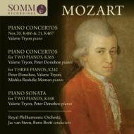 Piano Concerto, 7, 10, 20, 21, : Tryon Donohoe Momen(P)Van Steen / Brott / Rpo