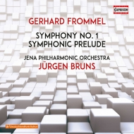 交響曲第1番、交響的前奏曲 ユルゲン・ブルンス&イェーナ・フィル