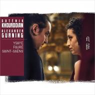 Ysaye, Faure, Saint-saens: Works For Violin & Piano: Khourdoian(Vn)Gurning(P)