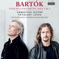 ヴァイオリン協奏曲第2番、第1番 クリスティアン・テツラフ、ハンヌ・リントゥ&フィンランド放送交響楽団