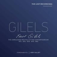 エミール・ギレリス未発表音源集 コンセルトヘボウ・ライヴ(1975〜1980年ステレオ)(5CD)