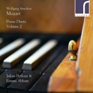 ピアノ・デュエット集 第2集 エンマ・アッバーテ、ジュリアン・パーキンス(フォルテピアノ)