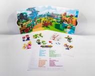 マリオ+ラビッツ キングダムバトル Mario +Rabbids Kingdom Battle (クリア・ヴァイナル仕様/2枚組アナログレコード/Iam8bit)