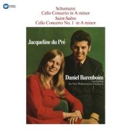チェロ協奏曲:ジャクリーヌ・デュ・プレ(チェロ)、ダニエル・バレンボイム指揮&ニュー・フィルハーモニア管弦楽団 (180グラム重量盤レコード/Warner Classics)