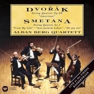 ドヴォルザーク:弦楽四重奏曲第12番『アメリカ』、スメタナ:弦楽四重奏曲第1番『わが生涯より』 アルバン・ベルク四重奏団
