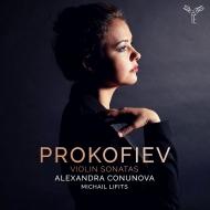 ヴァイオリン・ソナタ第1番、第2番 アレクサンドラ・コヌノヴァ、ミヒャエル・リフィッツ