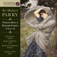 English Lyrics Vol.2: S.fox(S)Gilchrist(T)Roderick Williams(Br)A.west(P)