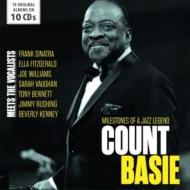 Milestones Of A Jazz Legend: Meets The Vocalists (10CD)