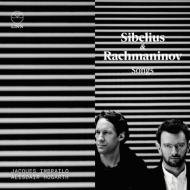 シベリウス:歌曲集、ラフマニノフ:歌曲集 ジャック・インブライロ、アラスター・ホガース