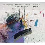 Sibelius Violin Concerto, Stravinsky Violin Concerto, Pei Lu : Zhi-Jong Wang(Vn)Thomas Sanderling / Philharmonia