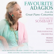 名ピアノ協奏曲のアダージョ集 エリーザベト・ソンバール、ピエール・ヴァレー&ロイヤル・フィル(2CD)