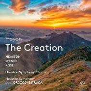 『天地創造』 アンドレス・オロスコ=エストラーダ&ヒューストン交響楽団、トビー・スペンス、他(2SACD)