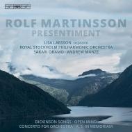 管弦楽のための協奏曲、オープンマインド、他 サカリ・オラモ、アンドルー・マンゼ、ストックホルム・フィル