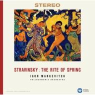 春の祭典:イーゴリ・マルケヴィチ指揮&フィルハーモニア管弦楽団 (180グラム重量盤レコード/Warner Classics)