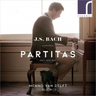 6つのパルティータ メンノ・ファン・デルフト(クラヴィコード)(2CD)