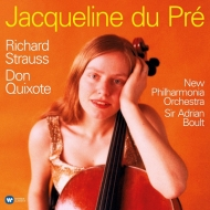 ドン・キホーテ:ジャクリーヌ・デュ・プレ(チェロ)、エイドリアン・ボールト指揮&ニュー・フィルハーモニア管弦楽団 (180グラム重量盤レコード/Warner Classics)
