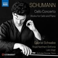 チェロ協奏曲、幻想小曲集、他 ガブリエル・シュヴァーベ、ラルス・フォークト&ノーザン・シンフォニア、ニコラス・リンマー