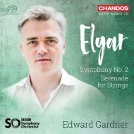交響曲第2番、弦楽セレナード エドワード・ガードナー&BBC交響楽団